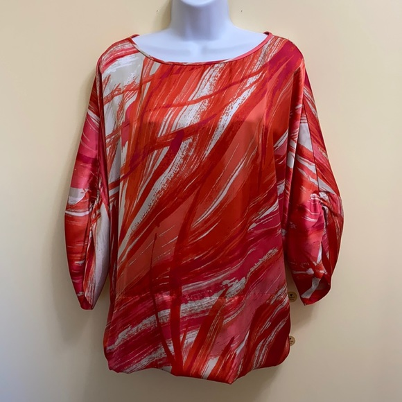 Jones New York Coral Top size 1X